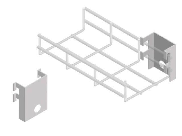 Saída lateral para eletroduto com trava